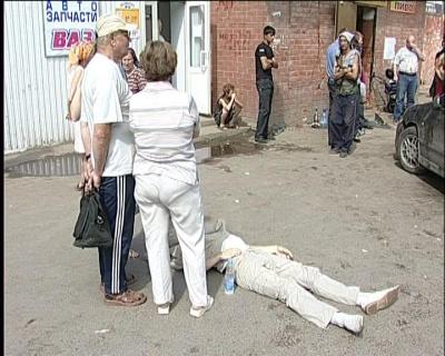 В Перми пьяный