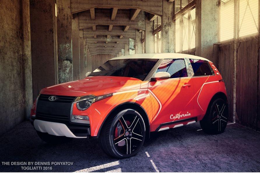 Lada California впечатлила екатеринбуржцев