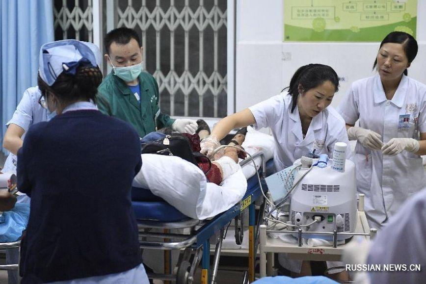 Число погибших  землетрясения в КНР  достигло 19 человек