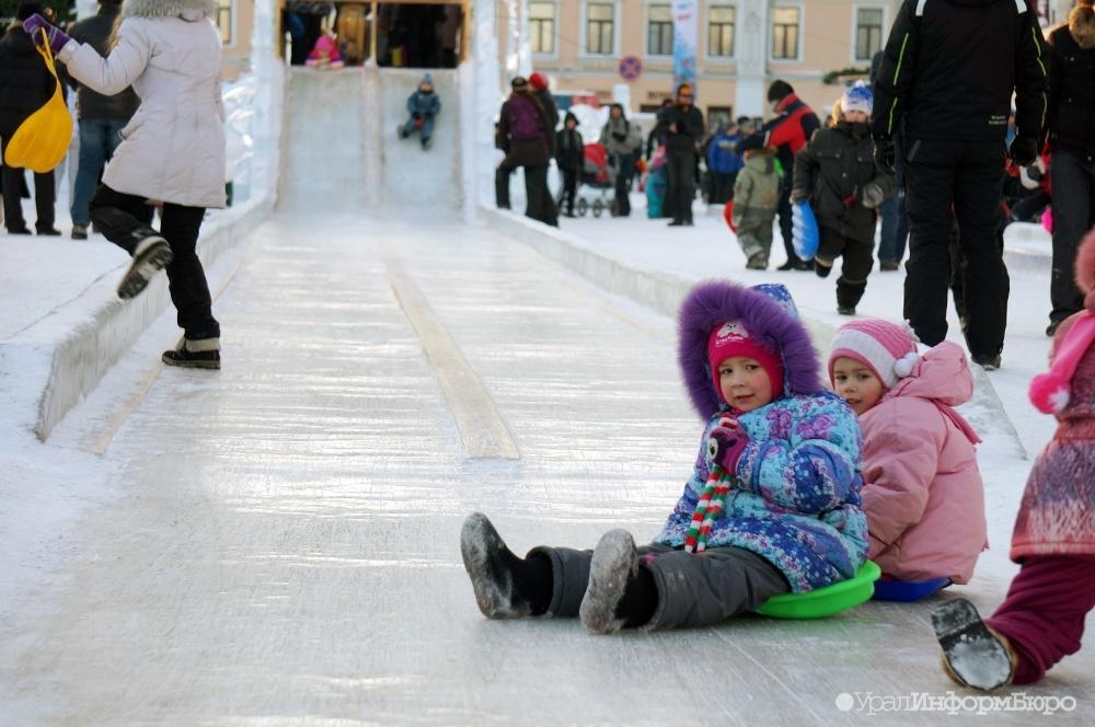НаУрале после травмирования 40 человек на«Ледяном городке» возбудили дело