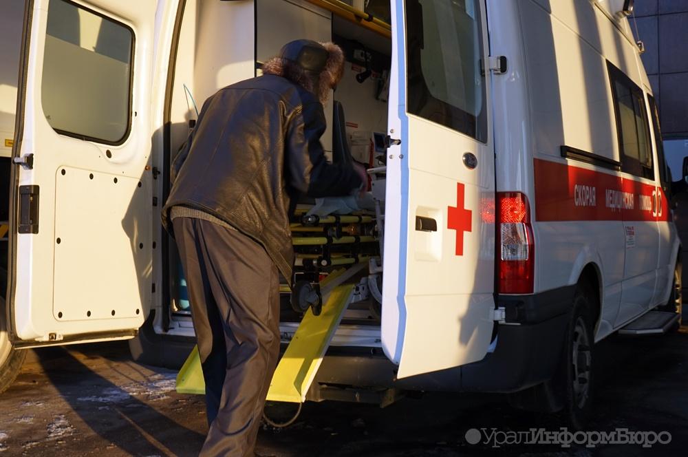 Шофёр иномарки умер вДТП натрассе Челябинск— Троицк