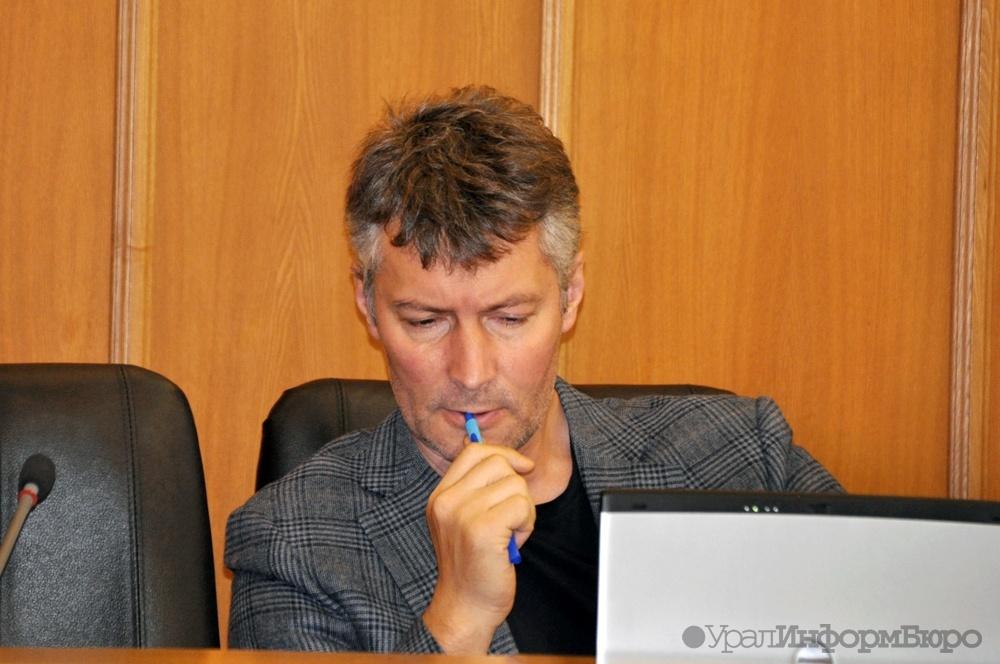 Народные избранники ЗакСО лишили Ройзмана решающего голоса вгордуме Екатеринбурга