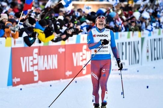 Жители России стали вторыми вэстафетеЧМ полыжным гонкам