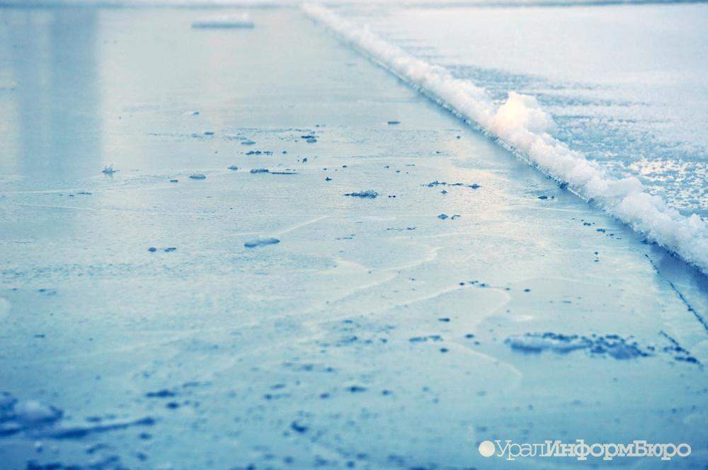 ВЕкатеринбурге ребенок провалился под лед Сегодня в19:34