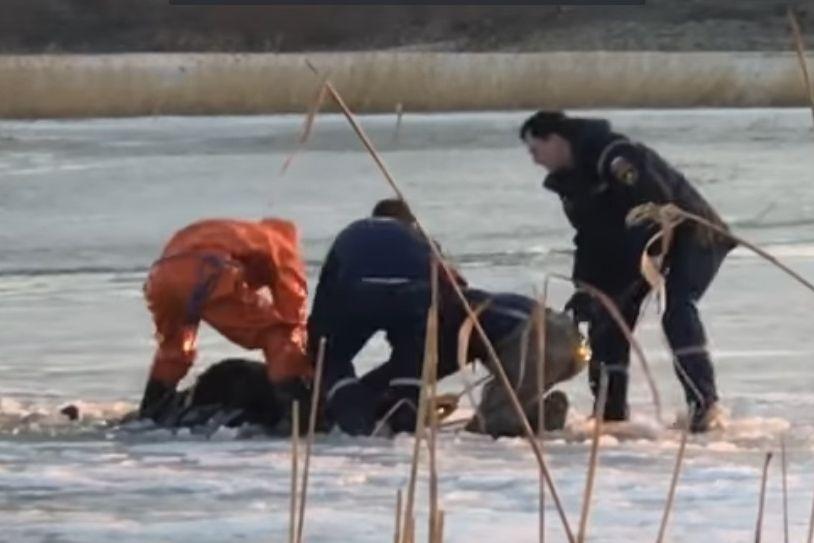 ВЧелябинске потонул рыбак, провалившийся под лед