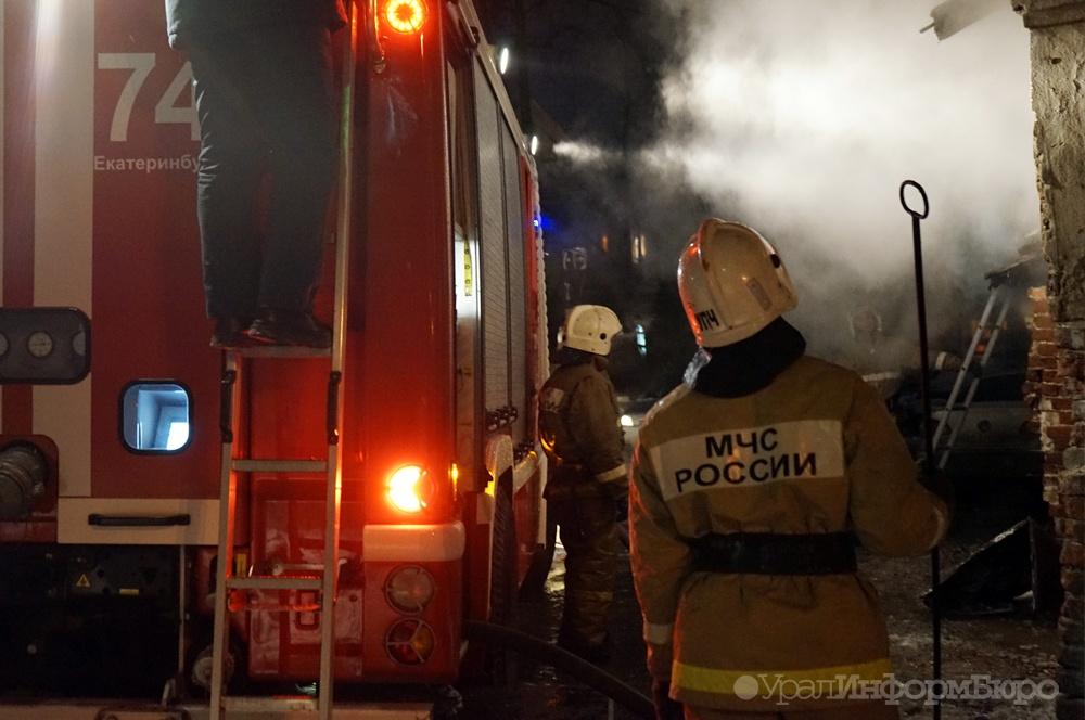 ВКировграде сегодня ночью сгорели отец, сын идочь