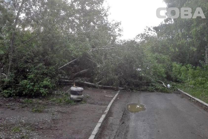 Беспощадный шторм обвалился наНижний Тагил— необошлось без жертв