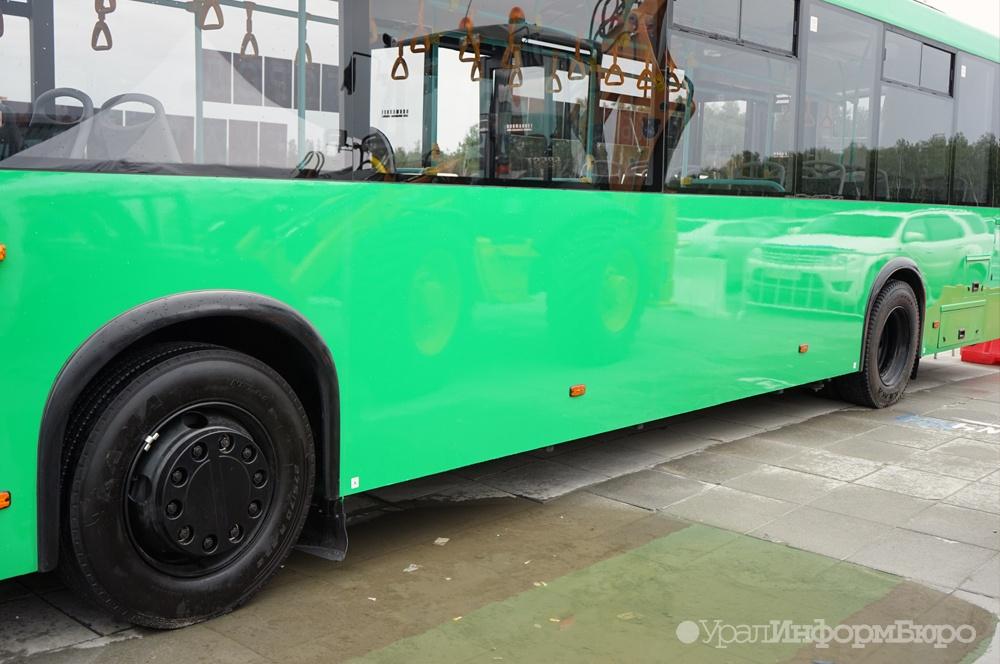 ВЕкатеринбурге автобус проехал поголове мужчины