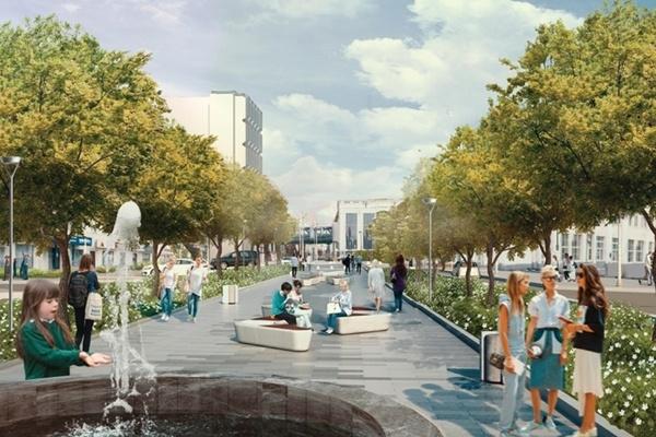 ВЕкатеринбурге обсудят, как благоустроить район площади 1905 года инабережную Исети