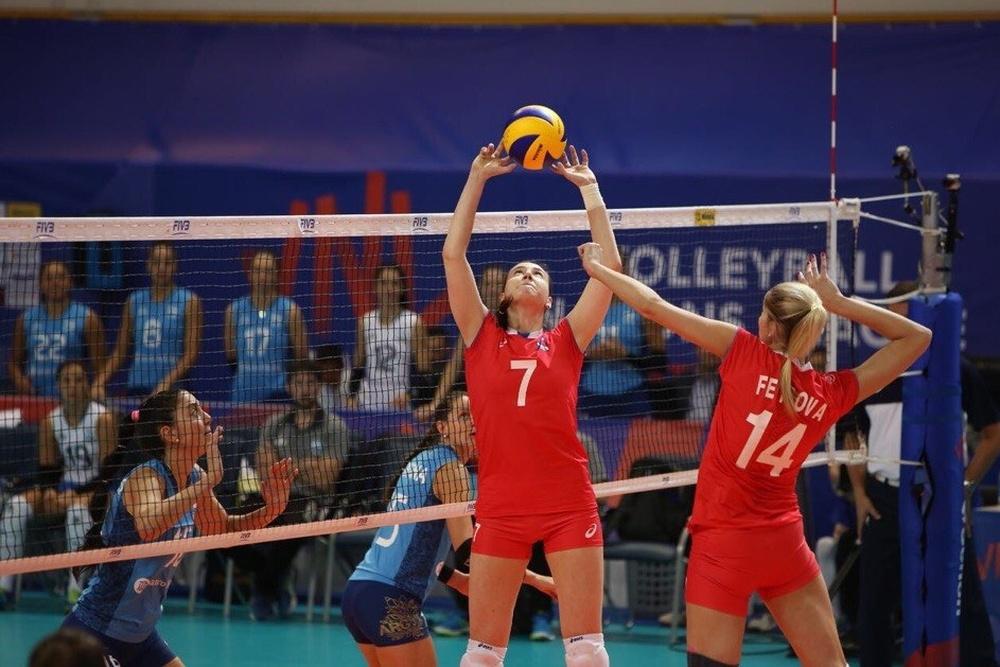 Волейболистки сборной Нидерландов обыграли команду Таиланда вматче Лиги наций