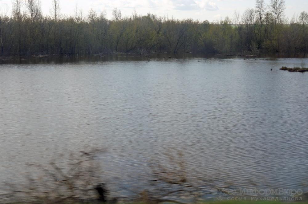 ВПрикамье содна реки достали затонувший автомобиль стелом женщины