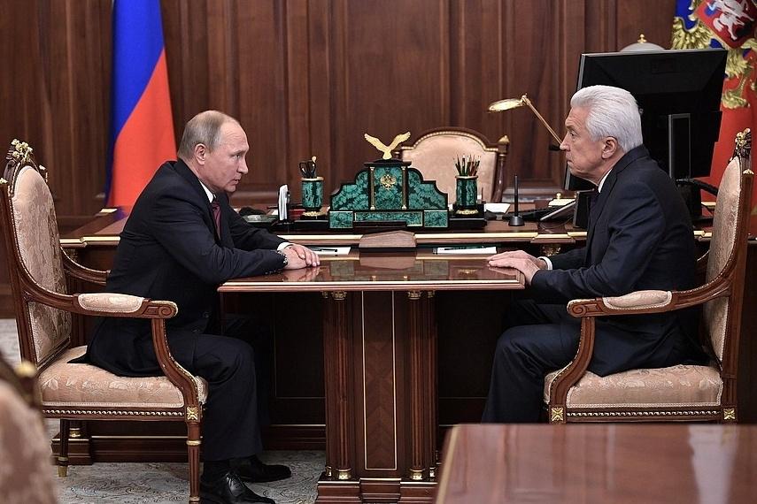 Чистка губернаторов продолжается: Путин сократил руководителя Республики Дагестан