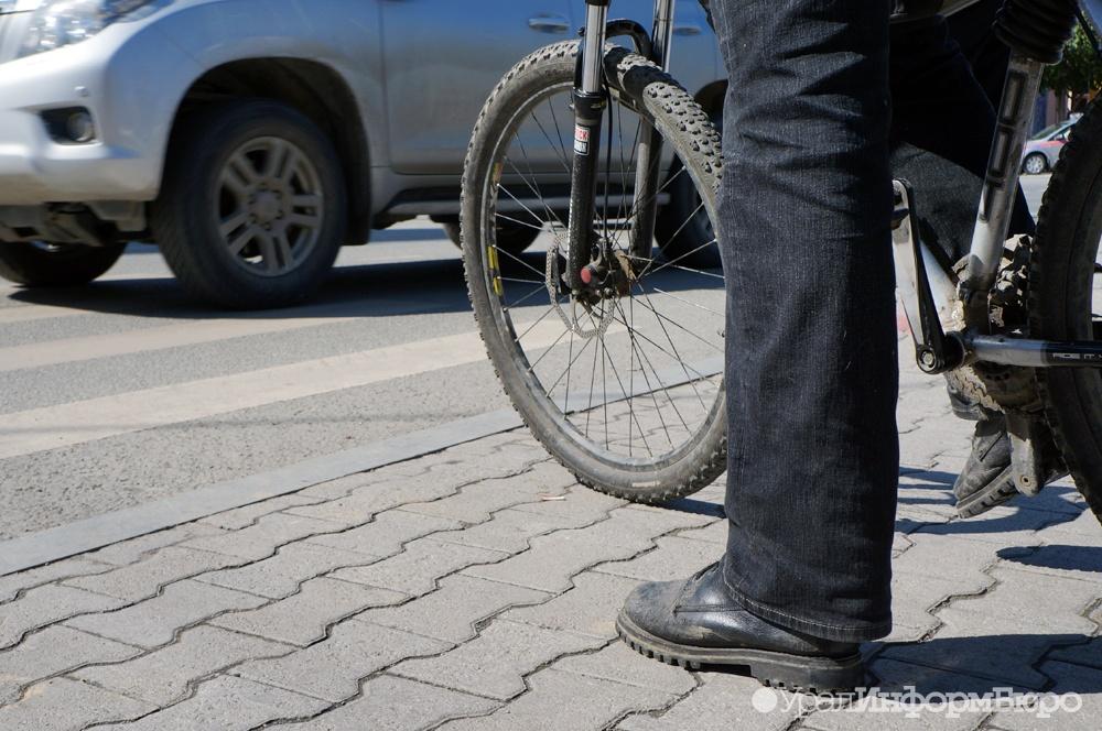 ВЕкатеринбурге велосипедист наполной скорости влетел впятиклашку удевятой гимназии