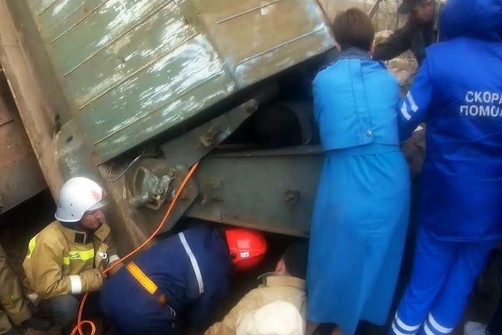 Железнодорожный кран придавил машиниста вЧелябинской области