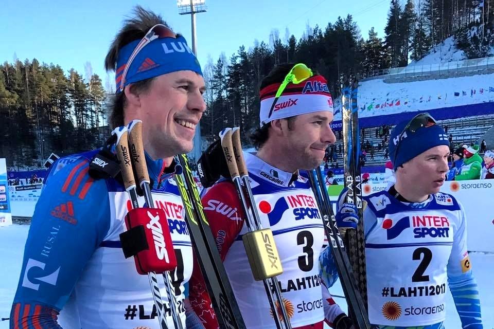 Устюгов одержал победу серебро влыжном марафоне начемпионате мира