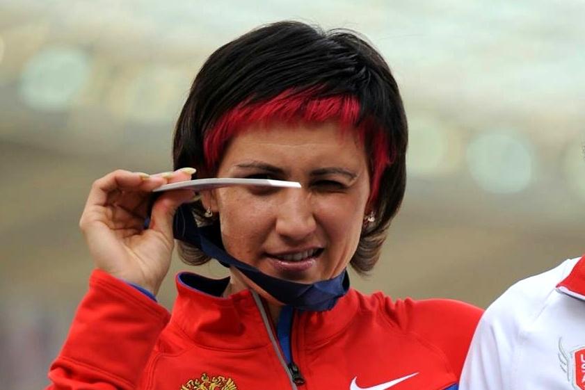 Русская легкоатлетка лишена 2-х олимпийских наград задопинг