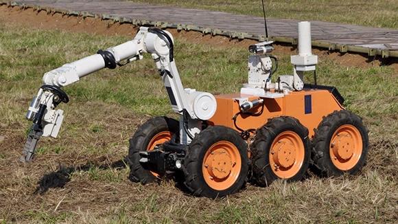 Ряды МЧС пополнит видящий радиацию робот