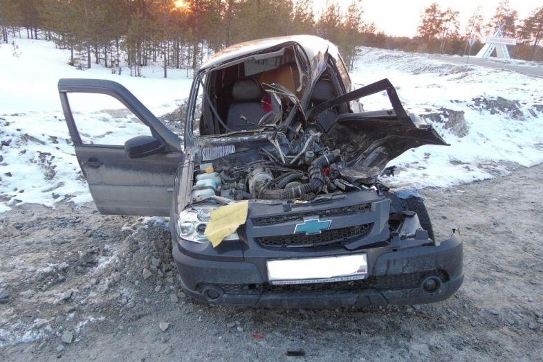 ВЮгре случилось смертельное ДТП с«Нивой» и«КамАЗом»