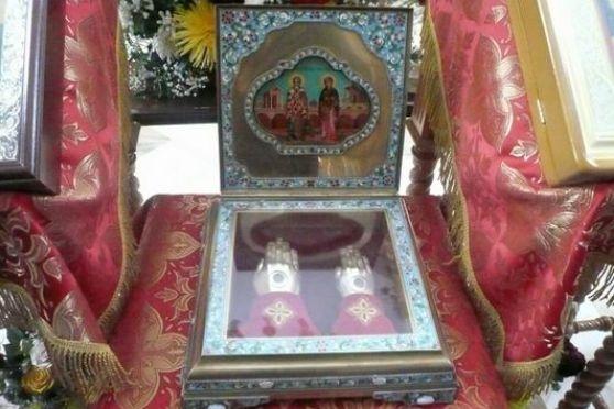 ВЕкатеринбург на 5 дней привезут мощи святых Киприана иИустинии