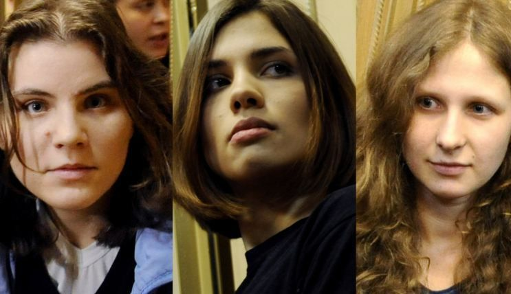Pussy riot секс в биологическом музее москвы