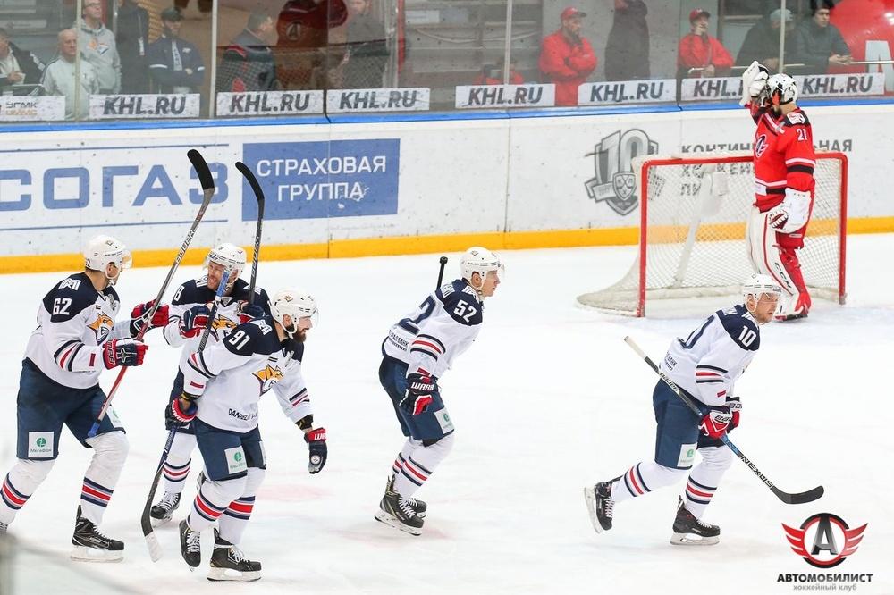 Четвертьфинал Кубка Гагарина'Автомобилисту только снится