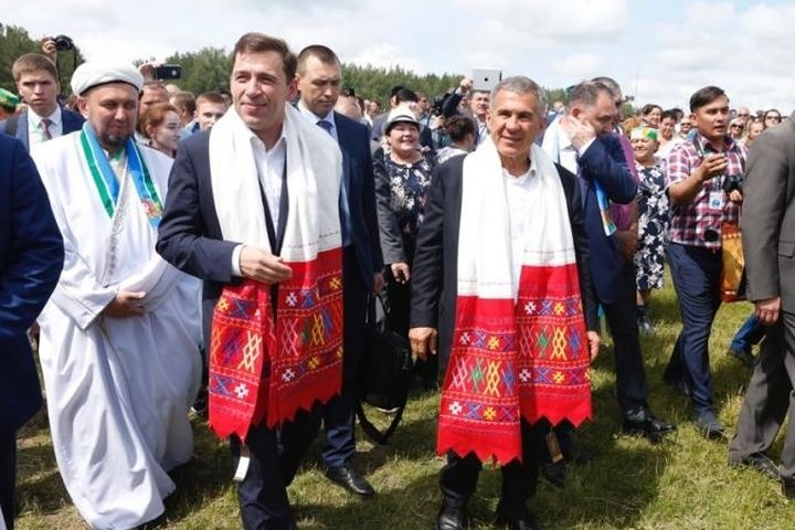 Всвердловском селе Кадниково отпраздновали 12-й областной Сабантуй