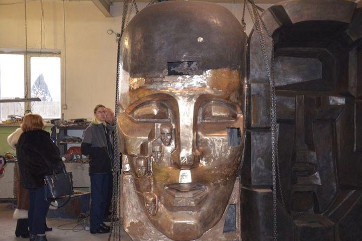 Формы для монумента «Маски Скорби» Эрнста Неизвестного установят вЕкатеринбурге