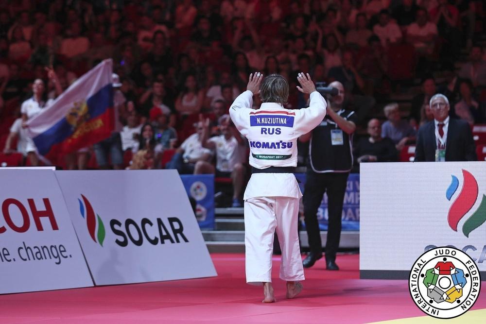 Русская дзюдоистка Кузютина завоевала бронзу Чемпионата мира