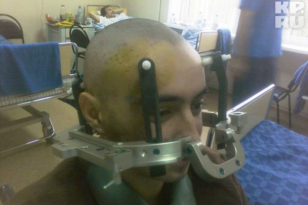 из госпиталя Бурденко