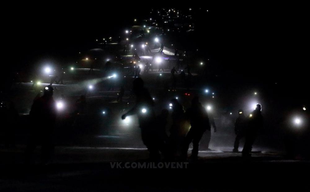 Уральцы «влетят» вКнигу рекордов Гиннесса светящейся лавиной