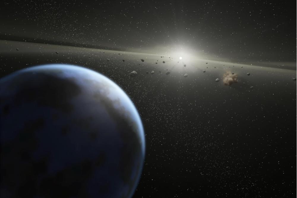 В феврале огромный астероид может упасть на Землю и вызвать цунами