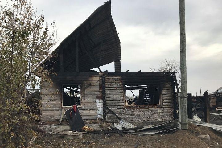 ВКурганской области впожаре погибла 7-летняя девочка