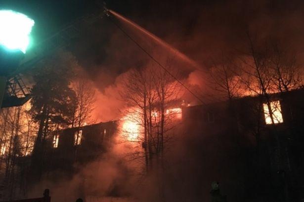 ВНоябрьске напожаре вжилом доме умер человек