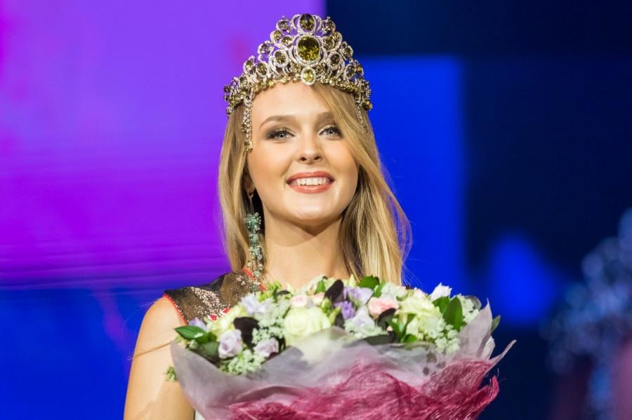 Победительницей конкурса красоты «Мисс Екатеринбург-2017» стала Анастасия Каунова