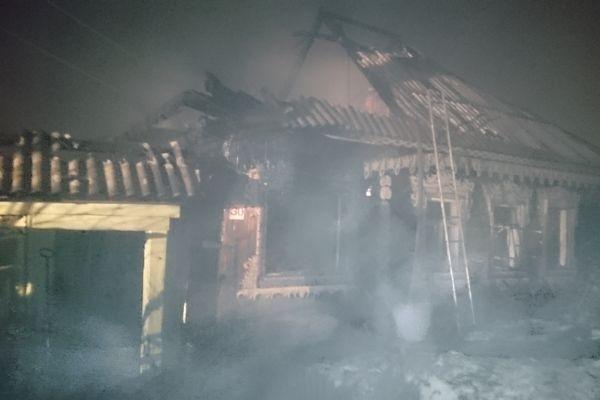 Один человек умер  впожаре  в личном  доме вКраснотурьинске