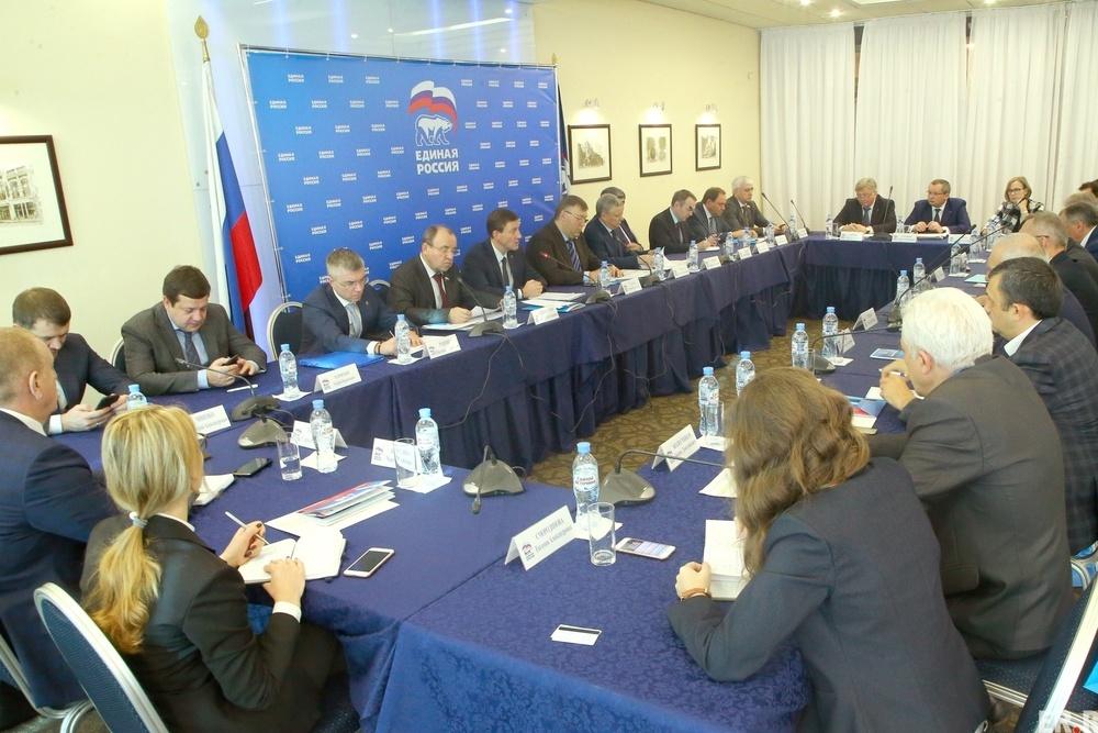 В Москве идет подготовка к XVII съезду «Единой России»