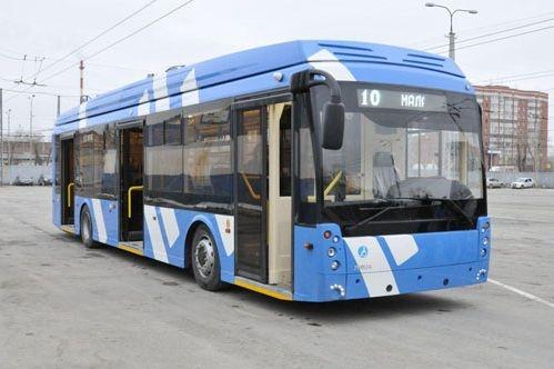 ВЕкатеринбург прибыл 1-ый электробус