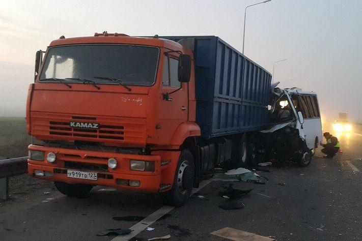5 человек погибли вДТП под Ростовом