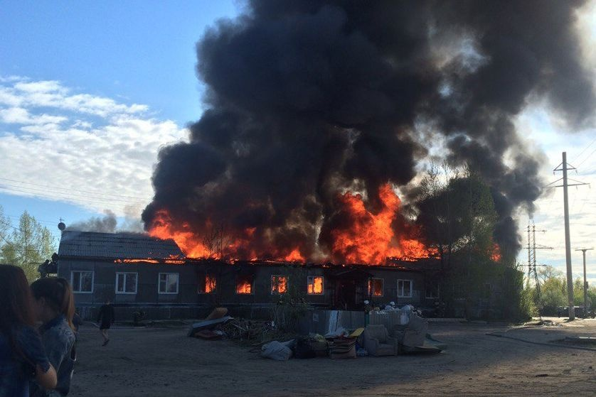 ВЮгре вовремя пожара вжилом доме погибли два человека