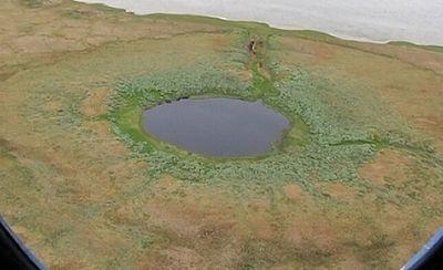 На Ямале образовался гигантский волдырь