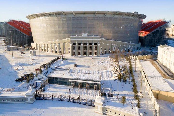 Стадион «Екатеринбург Арена» оказался первым построенным объектом кЧМ