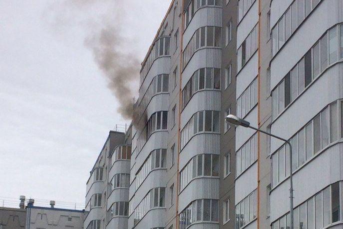 ВПерми впожаре  вквартире погибла пенсионерка
