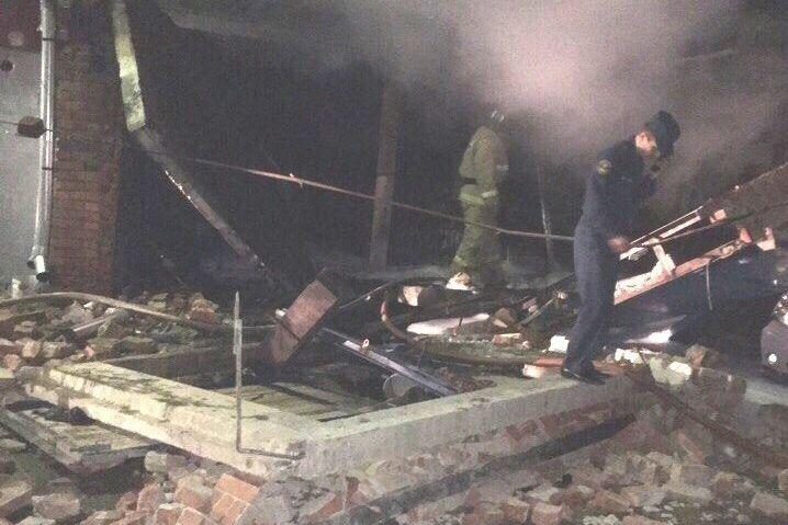 ВМиассе в итоге взрыва вгараже умер мужчина