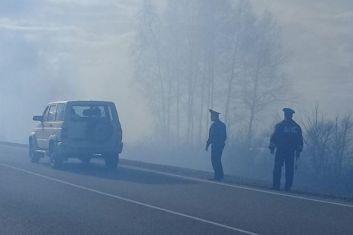 Курган: ГИБДД перекрыла движение натрассе Екатеринбург