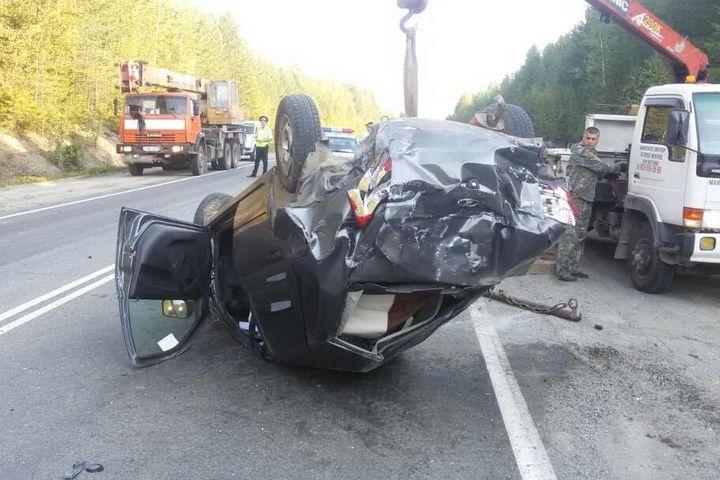 Невыспавшийся шофёр устроил ДТП наСеровской трассе