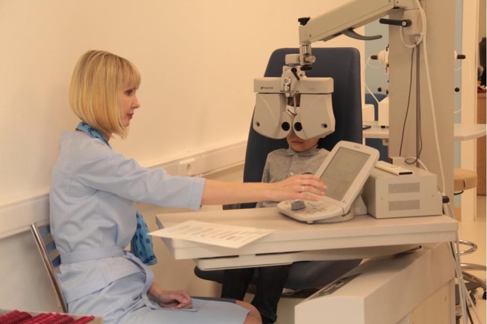 ВЕкатеринбурге открылась первая в РФ детская офтальмологическая поликлиника