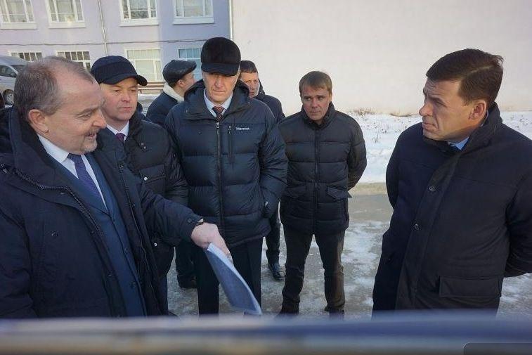 Губернатор Евгений Куйвашев проверил выполнение собственных поручений вНевьянске