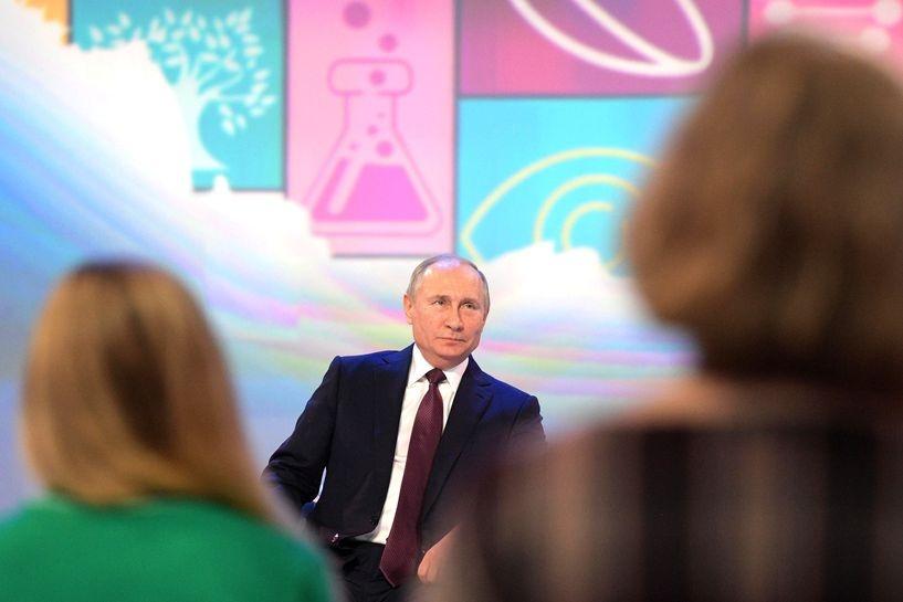 Путин похвалил председателя совета начальников ММК засоцполитику