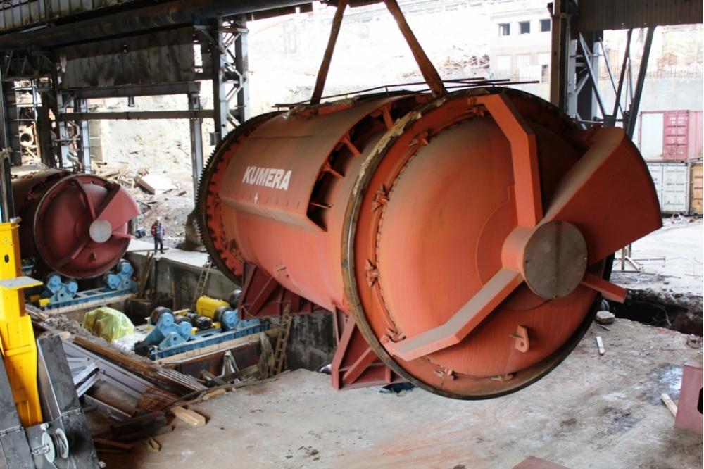 Карабашмедь завершила монтаж 2-х конвертеров врамках ремонта цехов
