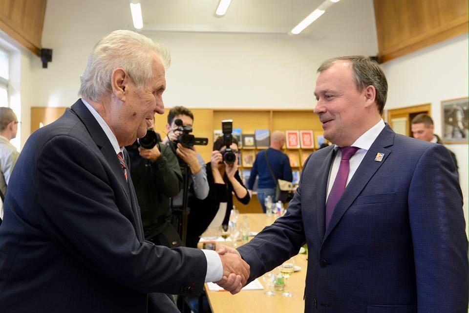 Президент Чехии планирует посетить Екатеринбург